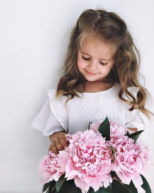 girl-flower